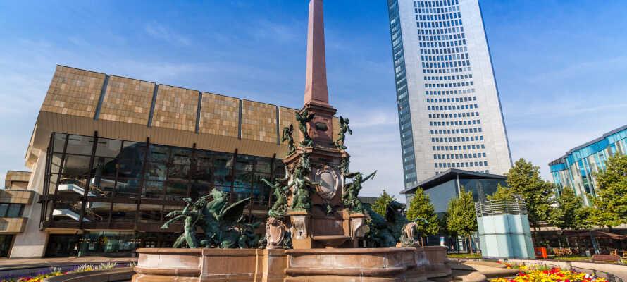 Leipzig er full av opplevelser, og byens største torg, Augustusplatz, er et godt sted å starte.