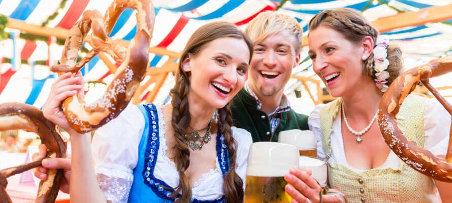 Det er nemt og billigt at holde bilferie i München, og især oktober måned byder på mange gyldne lækkerier.