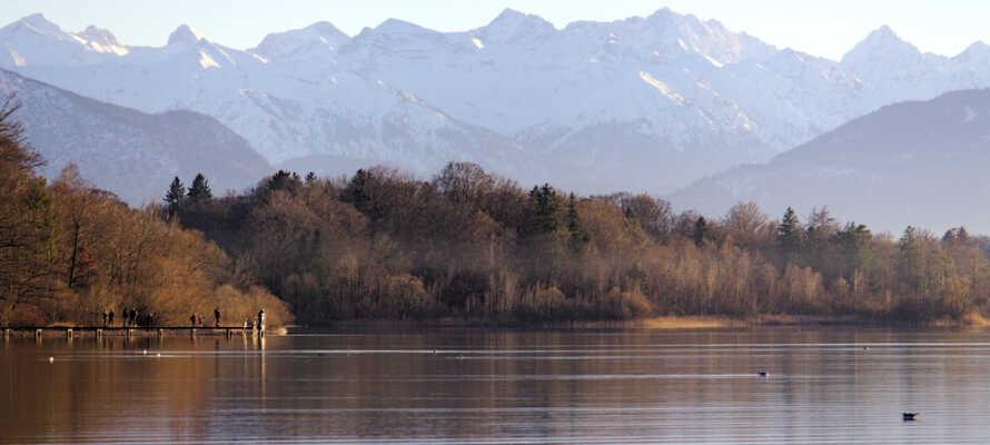 Der er dejligt ved Starnberger søen og et smukt bevis på at Bayern er andet end BMW og Paulaner.