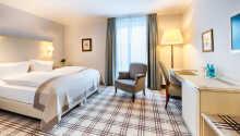 Eksempel på et af hotellets dobbeltværelse