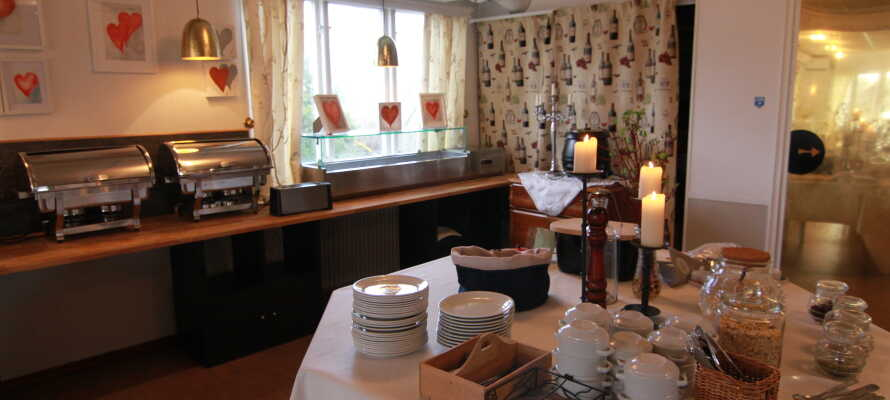 Hotellet ligger bare en 45-minutters kjøretur fra det populære Gekås Ullared - Skandinavias største varehus
