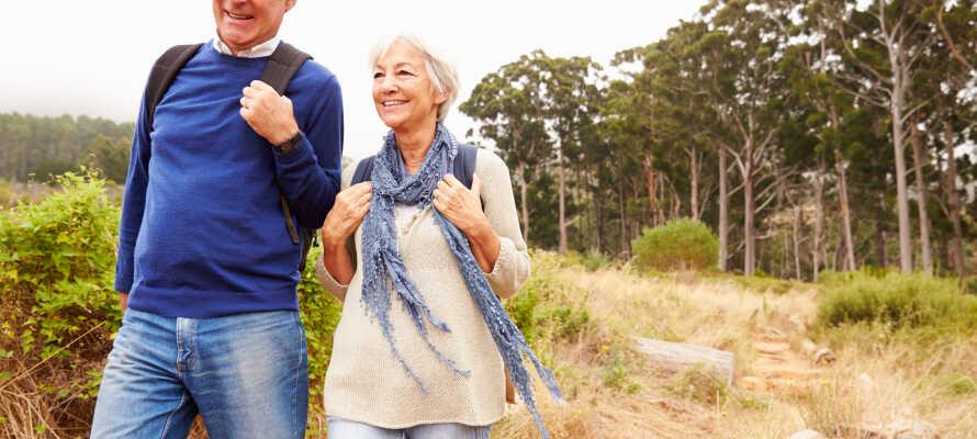 Passa på att tag er ut i naturen och utforska Galgbergets motions- och friluftsområde.