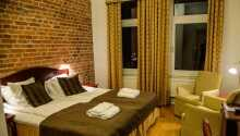 Her tilbys dere en god natts søvn i hyggelige rammer under oppholdet deres i Halmstad.
