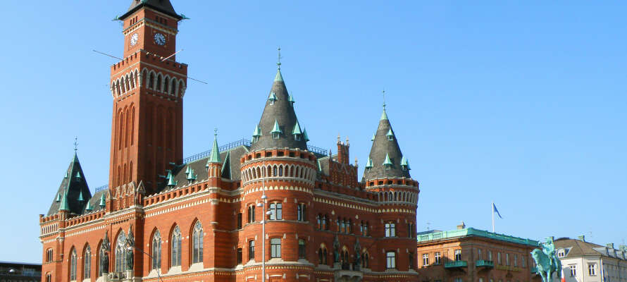 Hotellet ligger mellem Ängelholm og Hässleholm i det nordvestlige Skåne, mindre end en times kørsel fra smukke Helsingborg.