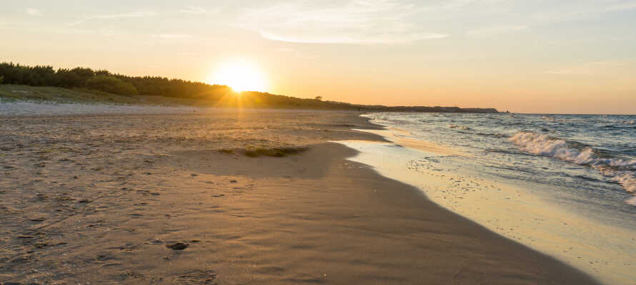 Ni bor endast en kort promenad från den gyllene sandstranden Swinoujscie Beach