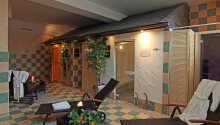 I wellnessområdet kan I slappe af og nyde de mange herlige faciliteter.