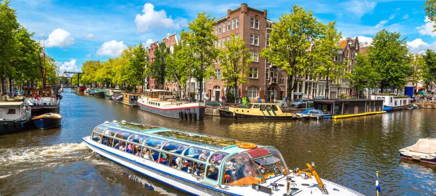 Etter en dag full av opplevelser i Zaandam eller Amsterdam, er det helt opplagt å runde av med en drink.
