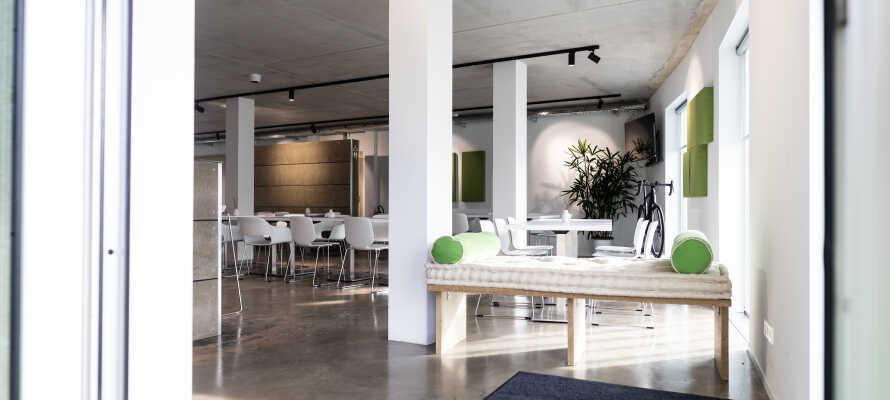 The Bricks er et yderst stilfuldt og moderne hotel, og tilbyder en hyggelig og indbydende atmosfære.