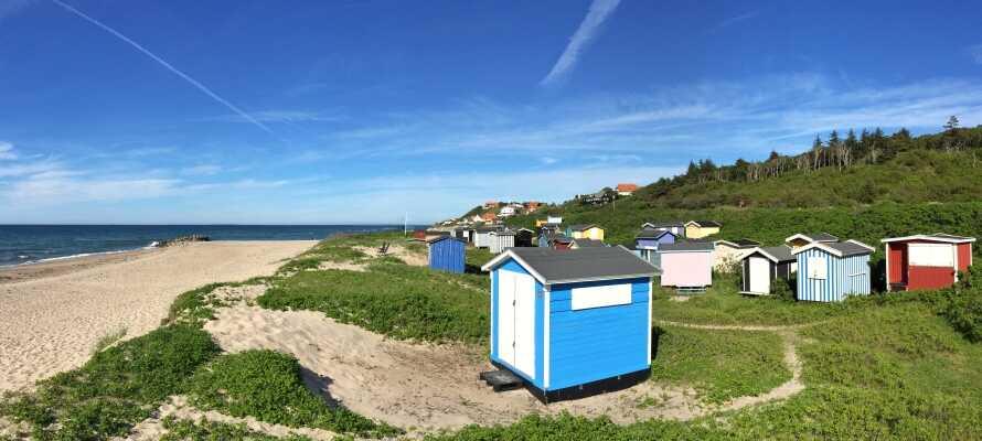 Utforsk 'Den danske rivieraen' og nyt f.eks. livet ved stranden i Tisvildeleje.