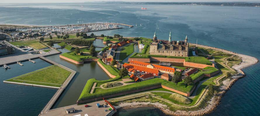 Upplev Kronborg slott som är ett av Nordeuropas mest betydelsefulla renässansslott.