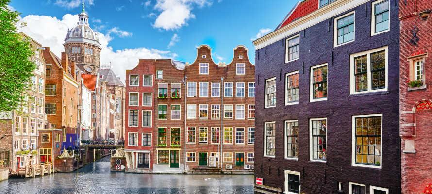 Dette helt nye hotellet ligger i grønne omgivelser i byen, Amstelveen. Man kommer seg enkelt til Amsterdam med metroen.