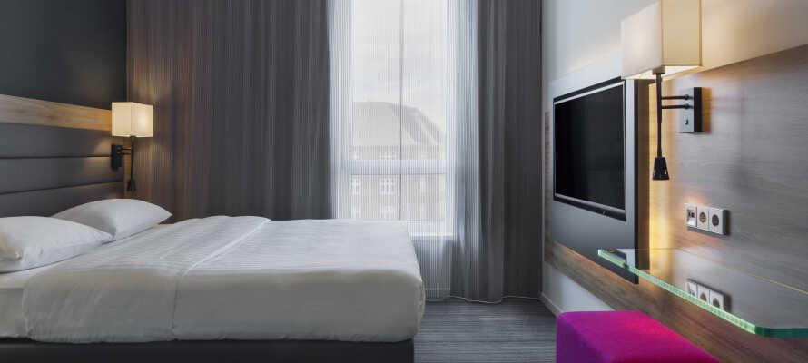 Moxy Copenhagen står for høy kvalitet, og det merkes i alt fra design til komfort- og servicenivå.