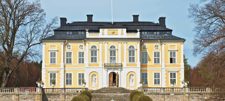 Machen Sie einen Familienausflug zu Schloss Steninge Slott Märsta und zum Rosenberg Schloss, beide gut per Auto erreichbar.