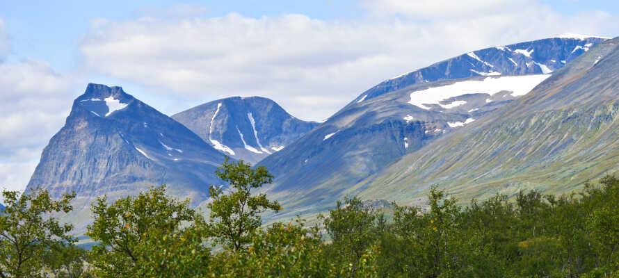 Oplev Sveriges højeste bjerg, Kebnekaise, og den smukke vandredal.
