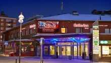 Hotel Bishops Arms Kiruna har en sentral beliggenhet i den nordsvenske byen Kiruna.