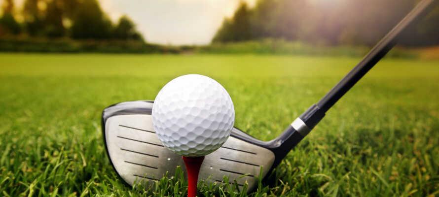 Fra hotellet har I bare 15 minutters køretur til Piteå Golfklubb.