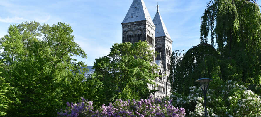 Vom Hotel aus kommen Sie gut zu Fuß zur Domkirche, zum botanischen Garten und zu den Einkaufsstraßen der Stadt.