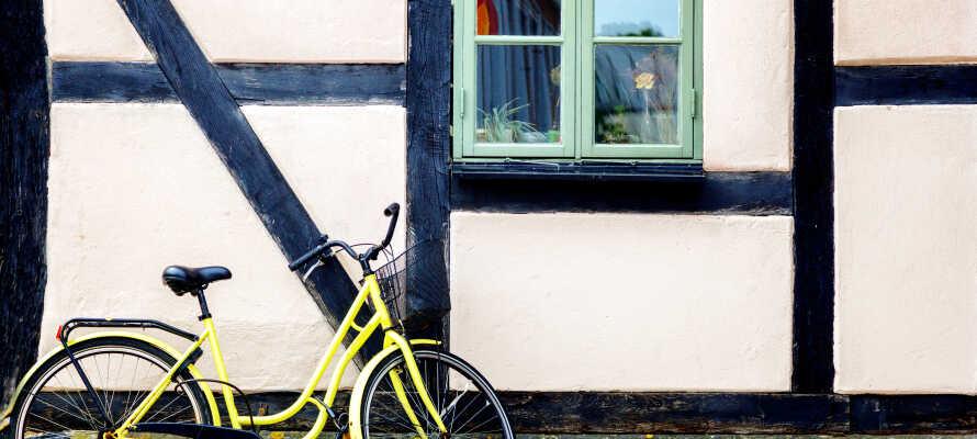 Lund er en av Sveriges fremste sykkelbyer, og dermed kan man selvfølgelig leie sykler i Lundahoj.