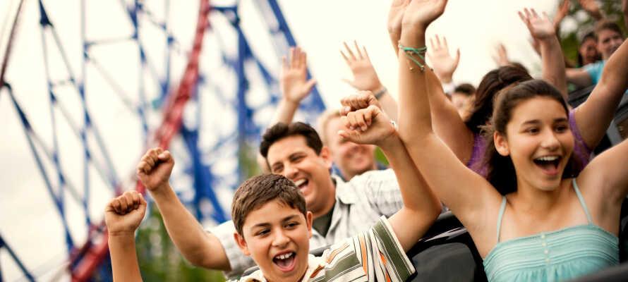 Nur wenige Minuten vom Best Western Hotel Wavre erwartet Sie Spannung und Spaß im Walibi Freizeitpark.