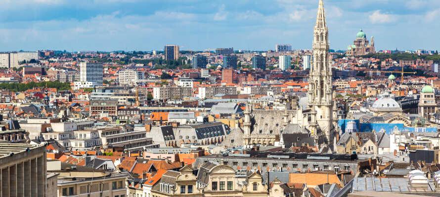 Hotellet giver jer et ideelt udgangspunkt for udflugter til Bruxelles.