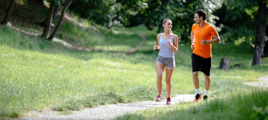 Naturen omkring Wavre er helt perfekt til aktiv ferie med vandre- og cykelture, jogging og golf.