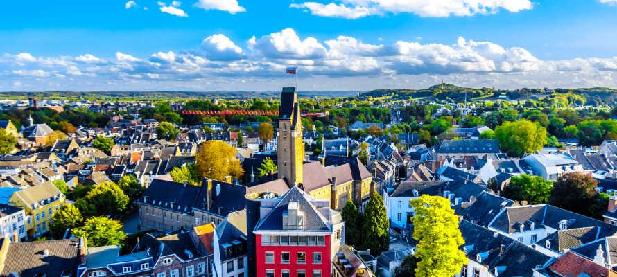 Maastricht är en spännande stad och här väntar historia, kultur och shopping
