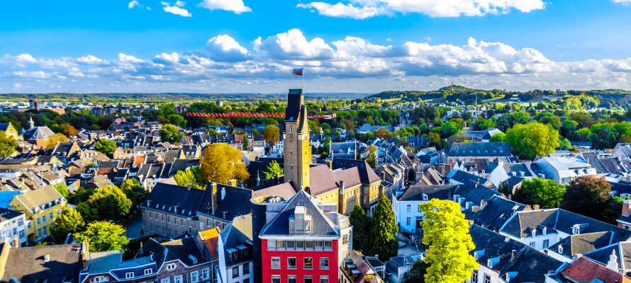 Maastricht är en spännande stad där det väntar historia, kultur och shopping