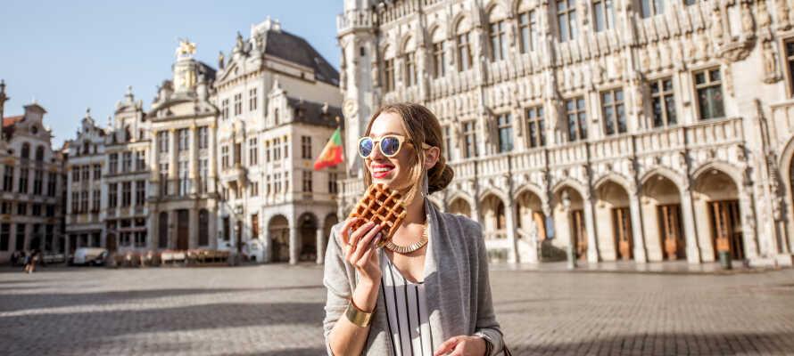 Oplev Bruxelles med en herlig storbyferie, eller en romantisk parferie, i Belgiens smukke hovedstad.