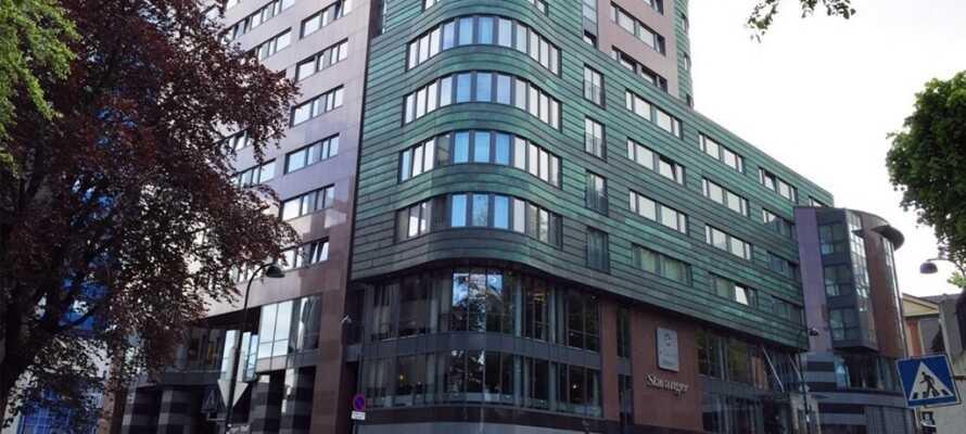 Clarion Hotel Stavanger har en god, central beliggenhed i den maritime sydvestnorske by, Stavanger.
