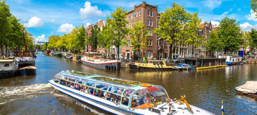 Få masser af kultur, historie, kunst, spændende storbyer og verdensberømte seværdigheder.