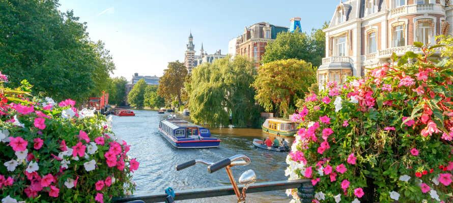 Opplev den sjarmerende nederlandske hovedstaden Amsterdam - også kjent som Nordens Venezia!