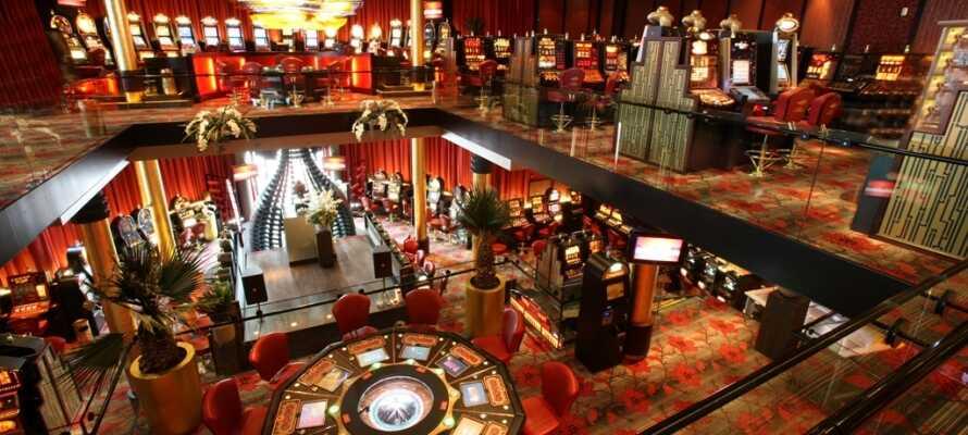 Hotellet har en lang rekke fasiliteter - deriblandt casino og velvære.