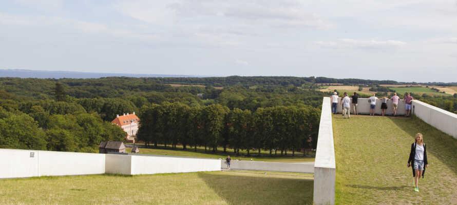 Das Moesgaard Museum ist ein fantastisches Erlebnis am Stadtrand von Aarhus.
