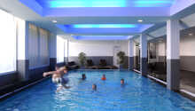 Du er velkommen til å bruke hotellets eget oppvarmede innendørsbasseng under oppholdet