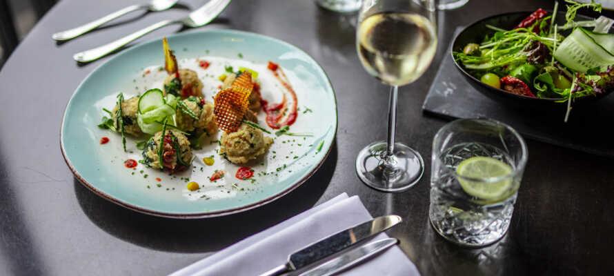Restaurant Puur serverer både internationale og regionale madoplevelser.