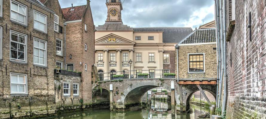Besøk den spennende og livlige byen Dordrect.