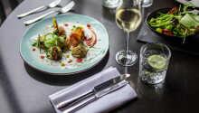 Der serveres lækker mad i hotellets restaurant Puur.