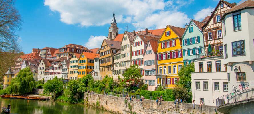 Kør en tur til Stuttgart, som ligger indenfor en times kørsel af hotellet.