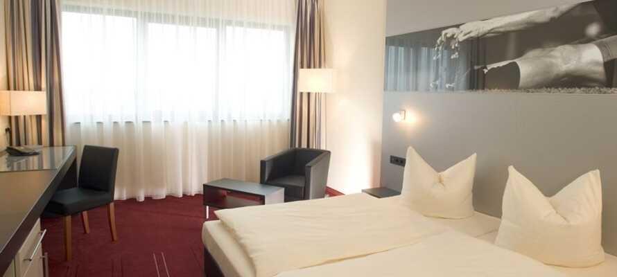 Njut av semestern på det här 4-stjärniga hotellet där ni bor på rymliga och bekväma rum