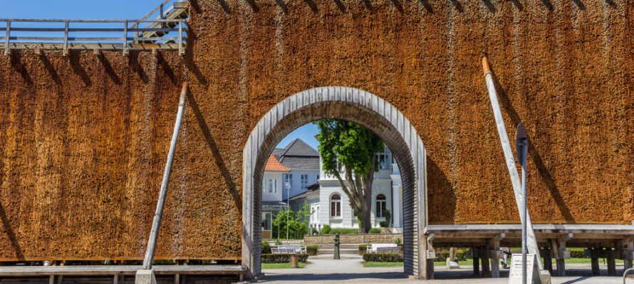 Das Gradierwerk ist eines der berühmtesten Wahrzeichen von Bad Salzuflen.