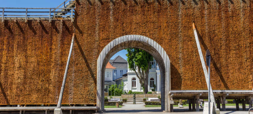 Graderværkstårneneer et af Bad Salzuflen mest berømte vartegn.