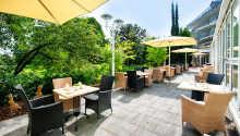 Her bor dere midt i den vakre tyske vinregionen, som også kalles 'Tysklands Toscana'.