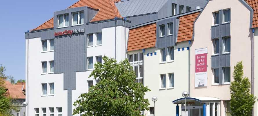 Hotellet har en perfekt beliggenhet i hjertet av Celles middelaldersentrum, og oppholdet inkluderer gratis offentlig transport i tre dager.