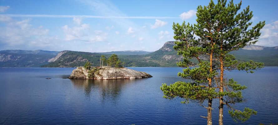 Bruk en dag på båttur og seil på Nisser eller Vråvatn.