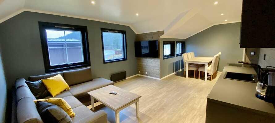 Enkle og koselige leiligheter.
