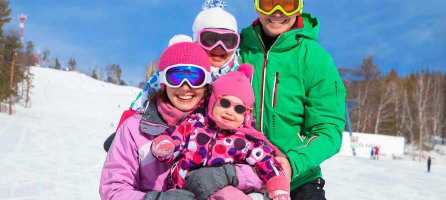 Gautefall er en familiedestination med fokus på børn og familier med børn.