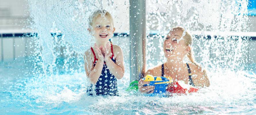 In Vandkulturhuset gibt es viele wunderbare Badeerlebnisse für Jung und Alt, zu denen Sie gratis Zugang haben.