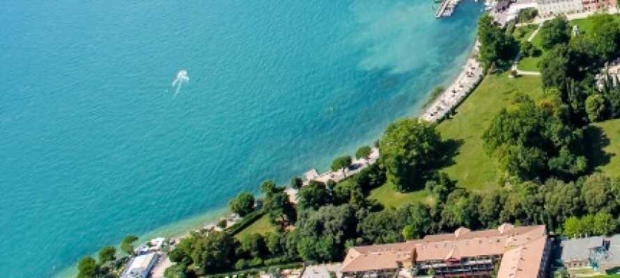 Oplev en luksuriøs ferie ved Gardasøen på Parc Hotel Gritti