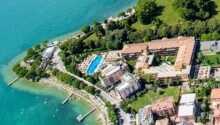 Parc Hotel Gritti ligger i smukke omgivelser ned til Gardasøen