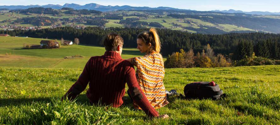 Die fantastische Natur im Erzgebirge bietet Ihnen während der Wanderungen jederzeit eine traumhafte Kulisse.